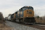 CSX 4582 eastbound at Rossville, MD