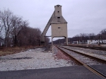Old Coaling tower over the Amtrak Line