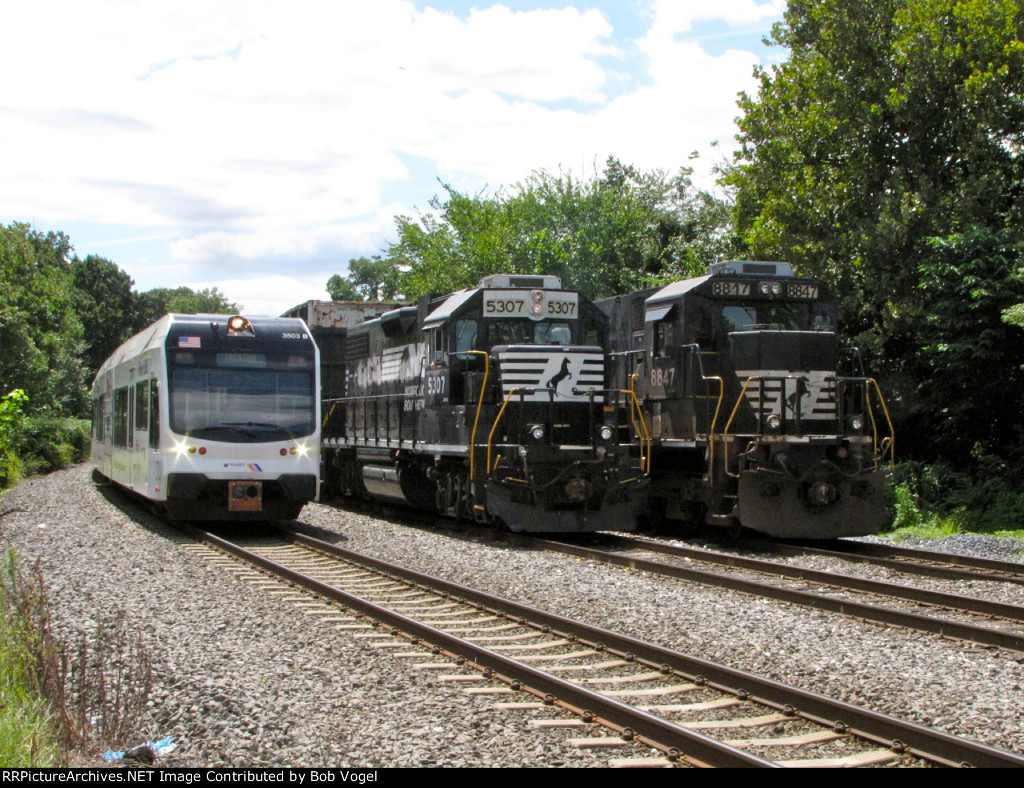 NJT 3503 and NS 5307 and 8817