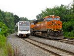 NJT 3502 and BNSF 7288