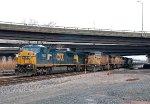 CSXT 7307 on Conrail YPOI-11 (CSX K634)