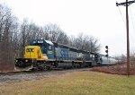 CSXT 8829 on Conrail YPOI-16