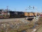 NS 9518 on rail train