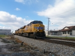 UP 7409 on NS 202