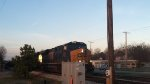 CSX Q405 sneaks up on me
