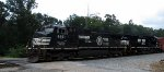 NS train #118 (Manifest) (Macon, GA - Linwood, NC) with (OLS) Unit.