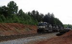 NS train #M53 (Manifest) (Linwood, NC - Birmingham, AL) (pic 1)