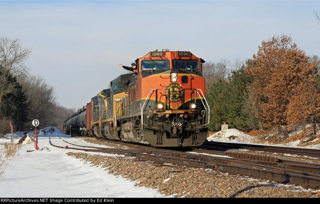 BNSF 1090