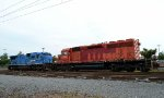 PN SD40-2 5577 and C39-8 8212 front to front