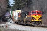 KCS 3941 leads 24E through Waco