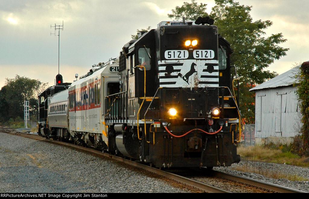 FRA track inspection train