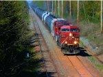 CP 9570 CP 8837 CSX Train K485 Ethanol Empties