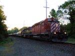 DME 6089 ICE 6411 CSX Train K665 Ethanol Empties