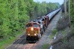 BNSF 7654 CSX Train K040 Crude Oil Loads