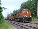 BNSF 7047 4313 5101 CSX Train K040 Crude Oil Loads