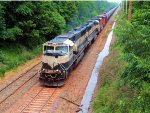 BNSF 9515 9721 9199 CSX Train K040-30 Crude Oil Loads