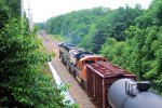 BNSF 9199 9721 9515 CSX Train K040-30 Crude Oil Loads