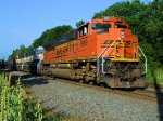 BNSF 9199 9721 9515 CSX Train K041 Crude Oil Empties
