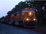 BNSF 9963 CSX Train K040-15 Crude Oil Loads