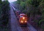 BNSF 5672 CSX Train K040 Crude Oil Loads