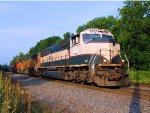 BNSF 9419 9923 8972 CSX Train K041 Crude Oil Empties