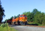 BNSF 4122 CSX K041 Crude Oil Empties