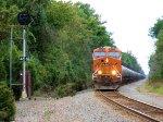 BNSF 6673 CSX Train K041 Crude Oil Empties