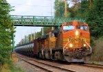 BNSF 5641 8825 6424 CSX Train K040 Crude Oil Loads