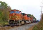 BNSF 4680 9087 4604 CSX Train K040 Crude Oil Loads