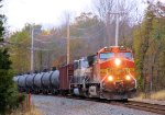 BNSF 5295 9441 CSX Train K042 Crude Oil Loads