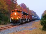BNSF 8768 9330 CSX Train K041 Crude Oil Empties