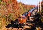 BNSF 6373 6815 CSX Train K042 Crude Oil Loads