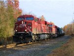 CP 8728 8702 CSX Train K487 Ethanol Empties Re-Route