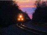 BNSF 6860 CSX Train K043 Crude Oil Empties