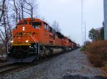 BNSF 8768 8754 9985 K065-26 Crude Oil Empties Re-route