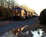 BNSF 4930 CSX Train K043 Crude Oil Empties