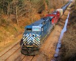 CEFX 1033 CP 8948 CSX Train K049 Crude Oil Loads