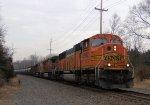 BNSF 8962 4163 CSX Train K042 Crude Oil Loads