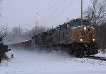 KCS 4604 CSX Train W088 Ballast