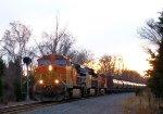 BNSF 4972 CSX Train K043 Crude Oil Empties