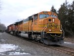 BNSF 9921 CSX Train K041 Crude Oil Empties