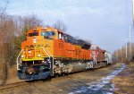 BNSF 8789 CP 9509 CSX Train K042 Crude Oil Loads
