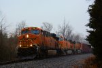 BNSF 7247 CSX Train K043 Crude Oil Empties