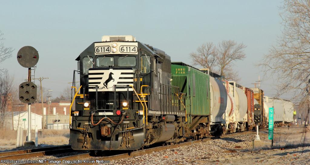 NS 6114 SD40-2