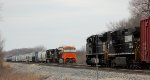 NS 1073 SD70ACe PC Heritage and Interstate Heritage