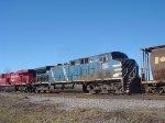 CEFX 1040 trails on CP 607