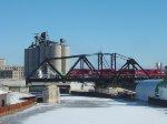 CP 281 across the KK Bridge with 2 INRD 'MACs