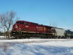 CP 8626 one unit wonder on westbound oil MTs train 607