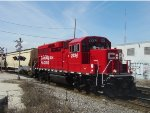 CP 2224 brings a two-car G67 back to town