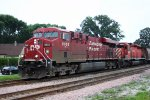 CP 8865 blares its way through the former quiet zone